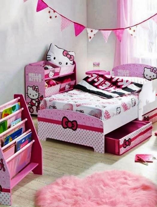 desain kamar tidur minimalis 2014 bertemakan hello