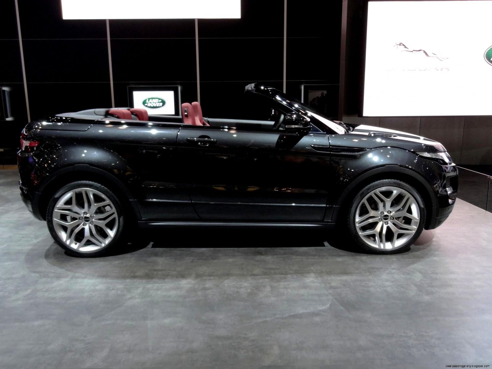 2012 Range Rover Evoque Convertible
