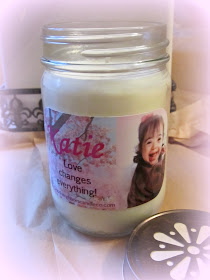 Katie&#39;s Care Fund Candle