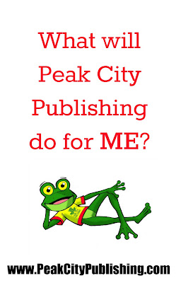 What will Peak City Publishing do for me as an author? Peak City Publishing, Independent Book publisher in Raleigh, North Carolina