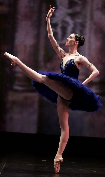 Viktoria Tereshkina. Bailarina