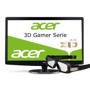 3D-LED-Monitor Acer HN274HBbmiiid bei Amazon für 299 Euro inklusive Versandkosten (Vergleichspreis: 477,04 Euro)