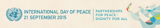 Hari Perdamaian Dunia 2015, Happy international Day of Peace