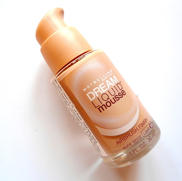 Maybelline dream liquid mousse foundation review swatch details