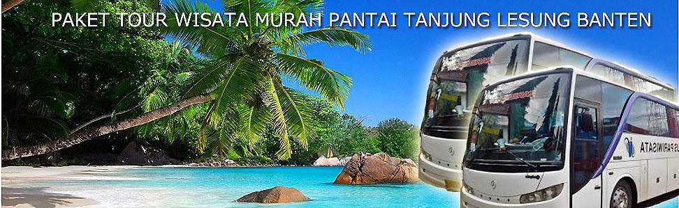 PAKET BUS MURAH TOUR TANJUNG LESUNG