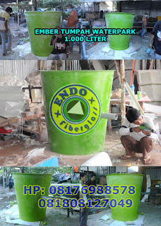Jual Ember Tumpah 1000 Liter Waterboom