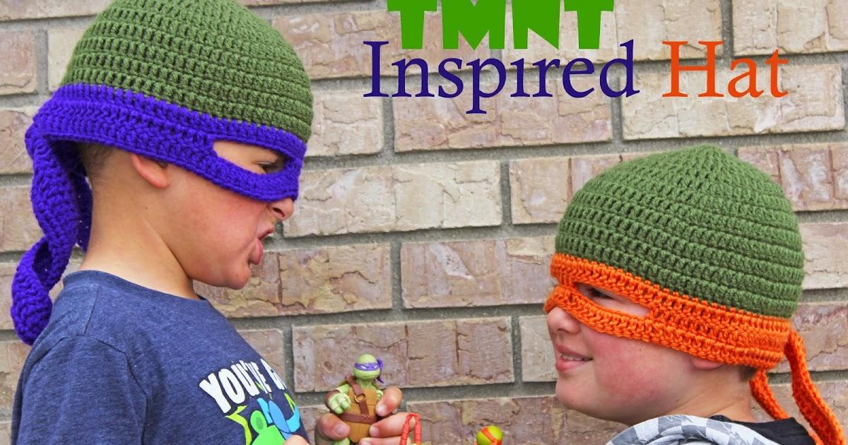 Crochet Rochelle Tmnt Inspired Hat