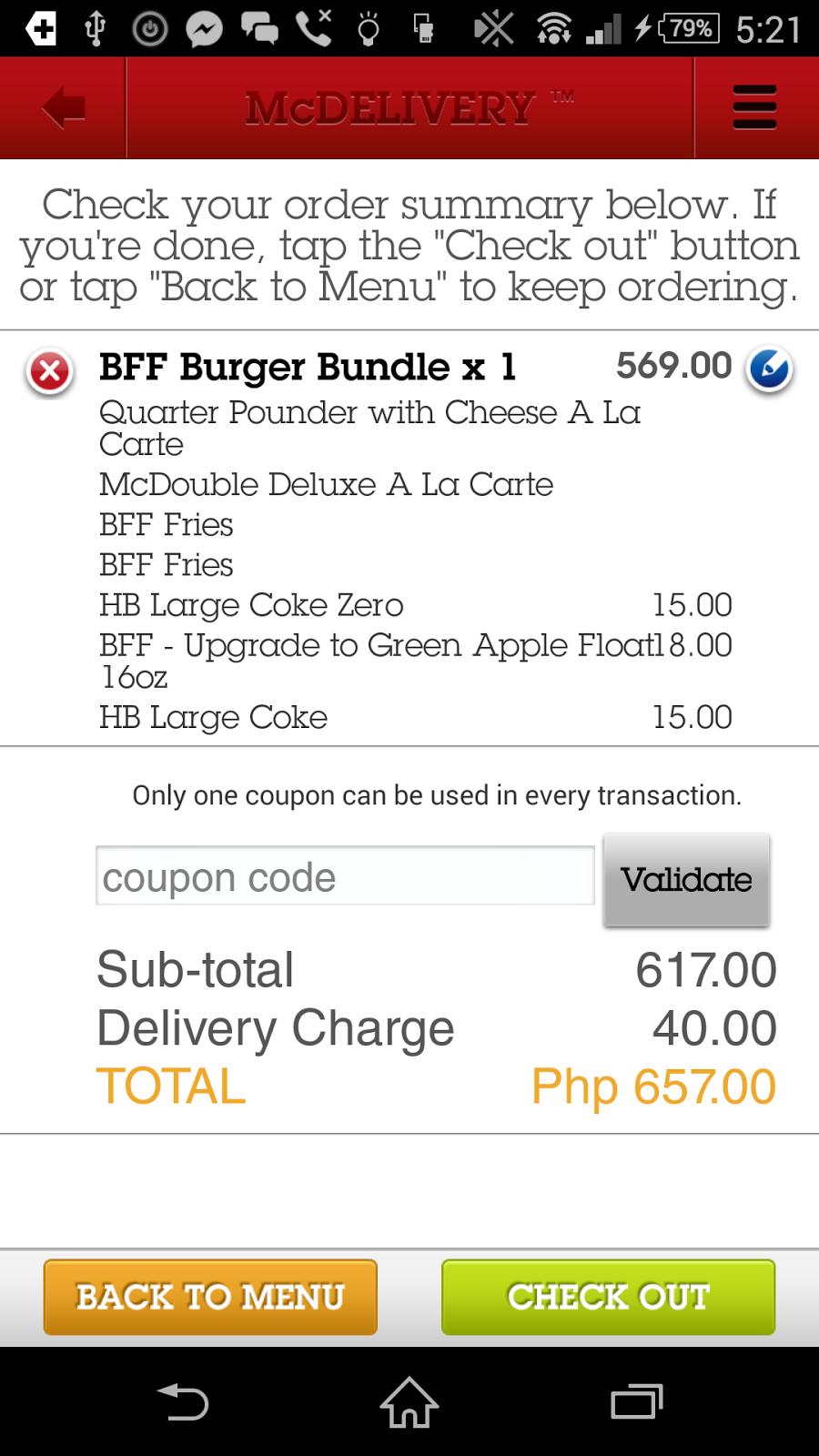 McDonalds Application, McDo App
