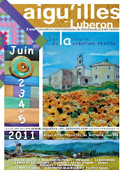 Aigu'illes en Luberon, 2ème rencontres internationales de Patchwork et d'Art Textile