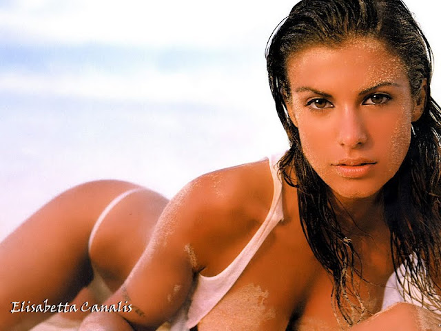 Elisabetta Canalis have a beautiful face