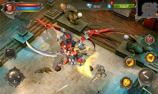 Gameloft releases Dungeon Hunter 4 for Windows Phone and Windows 8.1
