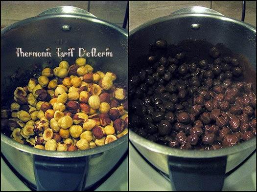 Chocolate Hazelnut Torrone with Thermomix