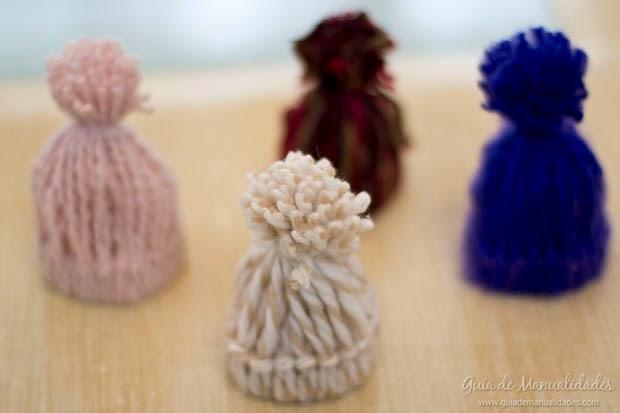 Manualidades recicladas con lana