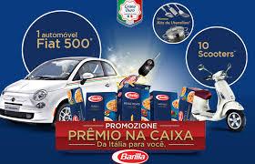 Promoção Prêmio na Caixa - Barilla