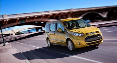 NHTSA Gives Ford Transit Connect Wagon Highest Safety Rating