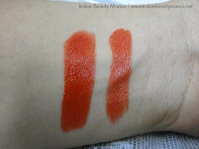 Kryolan Lipstick in LC 164 swatch