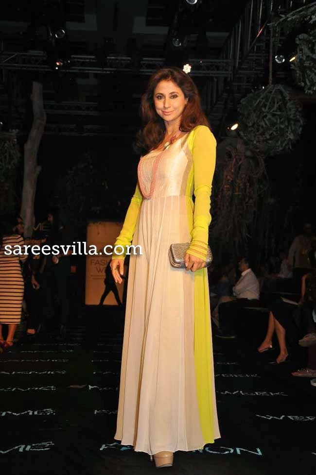 Urmila Matondkar at Lakme Fashion Week Summer 2014