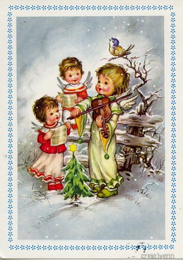 Европейские открытки с новым годом