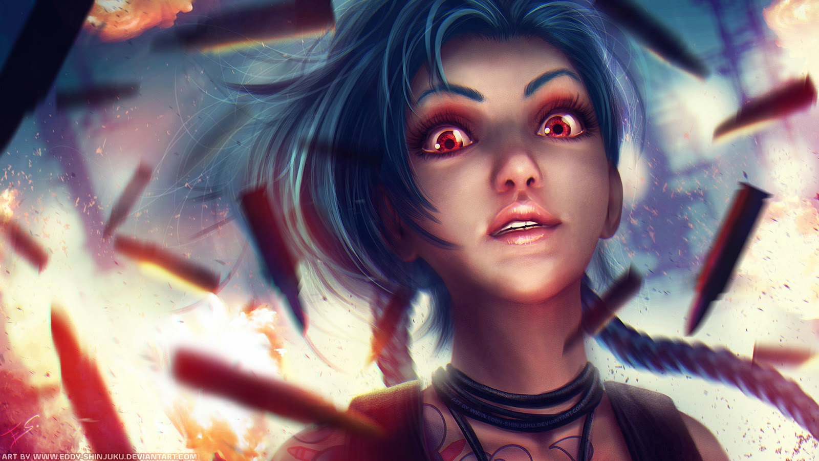 League Of Legends Jinx Wallpaper Jinx League of Legends Wallpaper Jinx Desktop Wallpaper