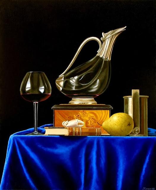 Современный датский художник. Erling Steen
