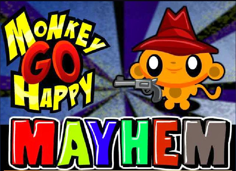 Monkey Go Happy Mayhem walkthrough.