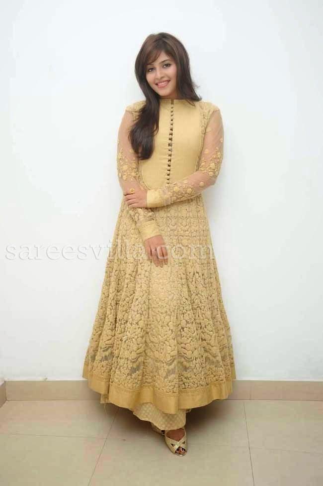 Actress Anjali In Anarkali