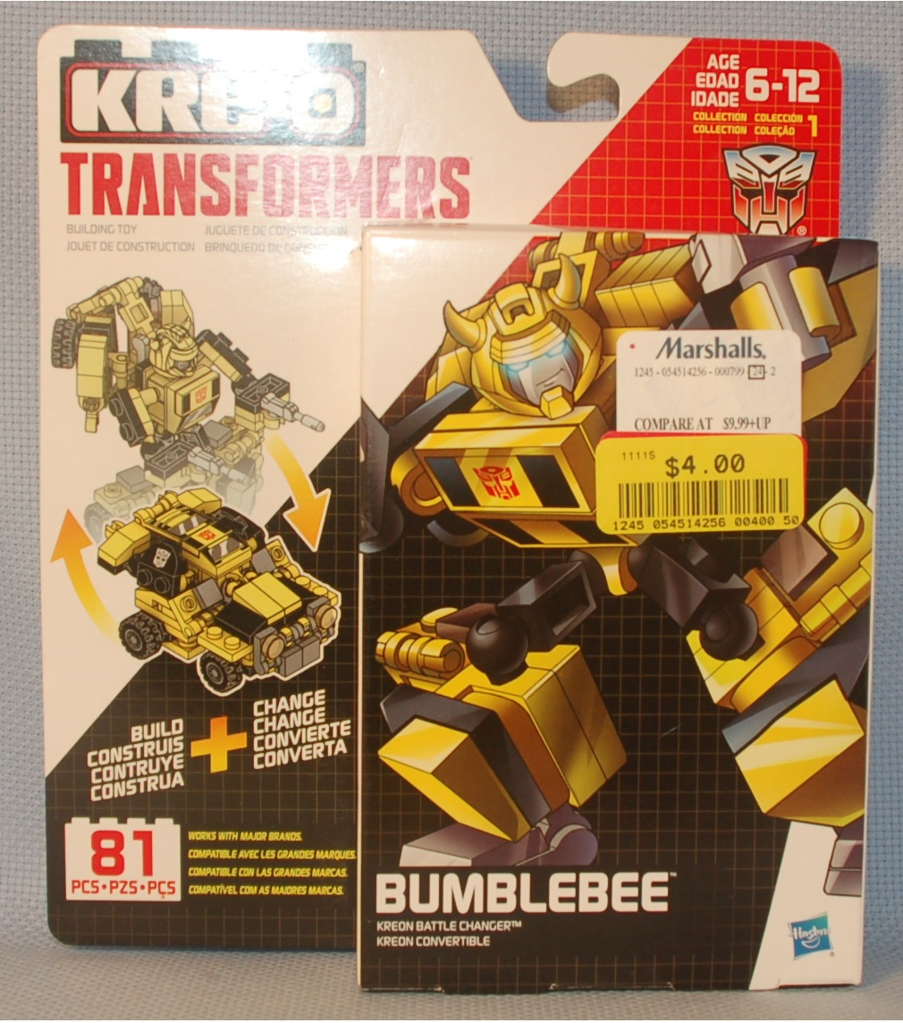 Purity Kre O 80716 Transformers Bumblebee Review
