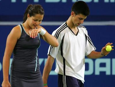 Ana Ivanovic Novak Djokovic