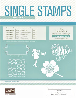 Single Stamps - Set 1