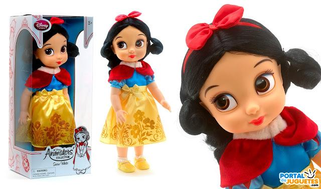 muñeca blancanieves coleccion disney animators nueva edicion
