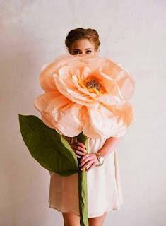 ... jpeg, Cara Membuat Kerajinan Tangan Dari Kertas, Bunga Kertas Raksasa