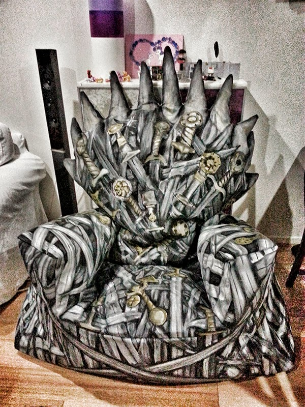 Funda para Sofa basada en el trono de hierro de Juego de Tronos