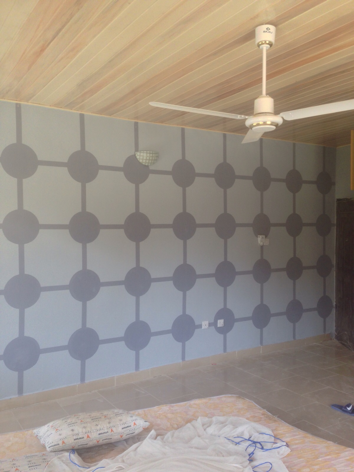 Painting not wall paper