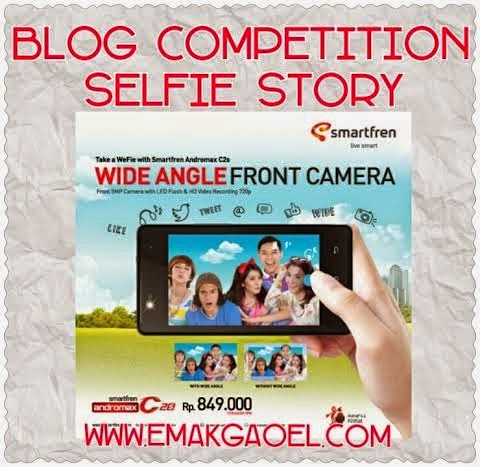 Blog Competition Selfie Story