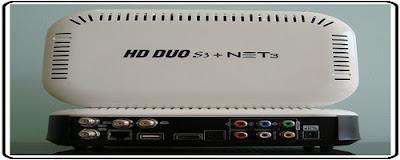 NOVA ATUALIZAÇÃO HD DUO S3 + NET3 V.0339 -- 17/06/2015