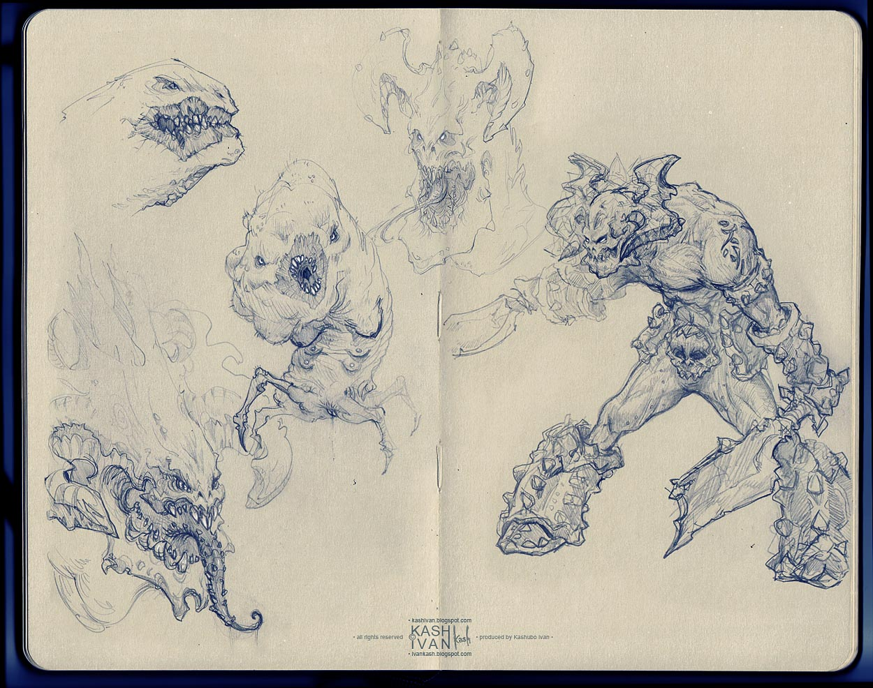 Kashivan `sketchbook`