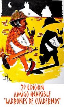 Participo en Ladrones de Cuadernos -Amigo invisible 2011