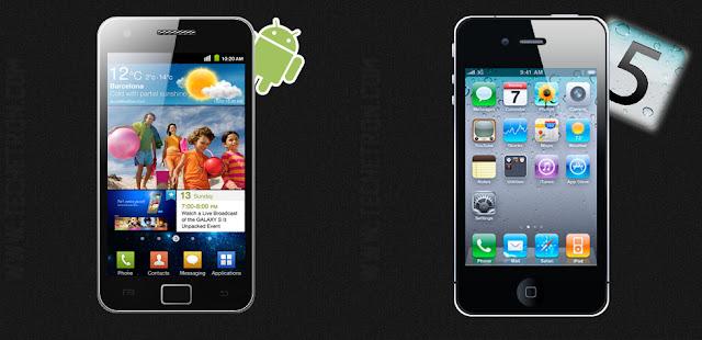iPhone 4s VS Galaxy Sii