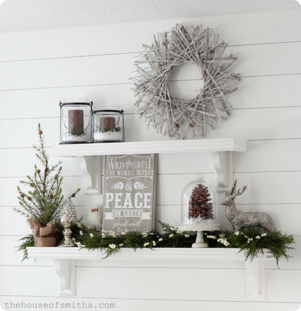 House of smiths holiday home tour for 5 diy winter room decor ideas