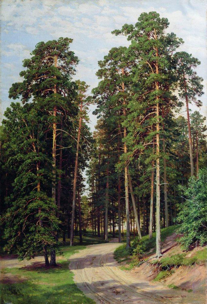 The Flying Clubhouse: Shishkin's Forest // The Sun in the Forest, 1895