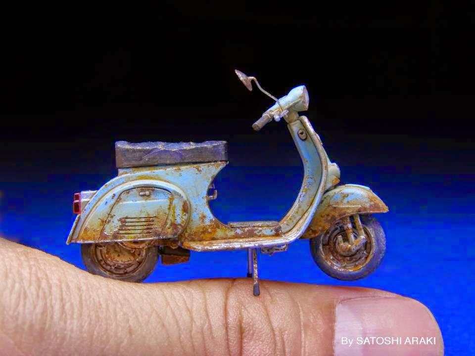 Le miniature di Satoshi Araki