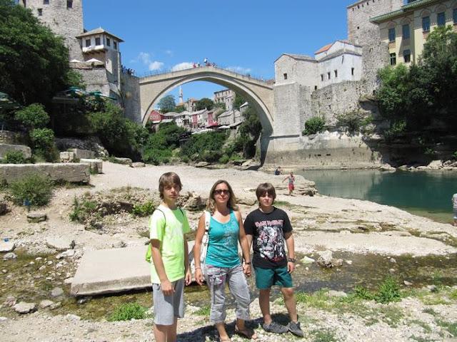 puente de Mostar, Mostar most Bosnia