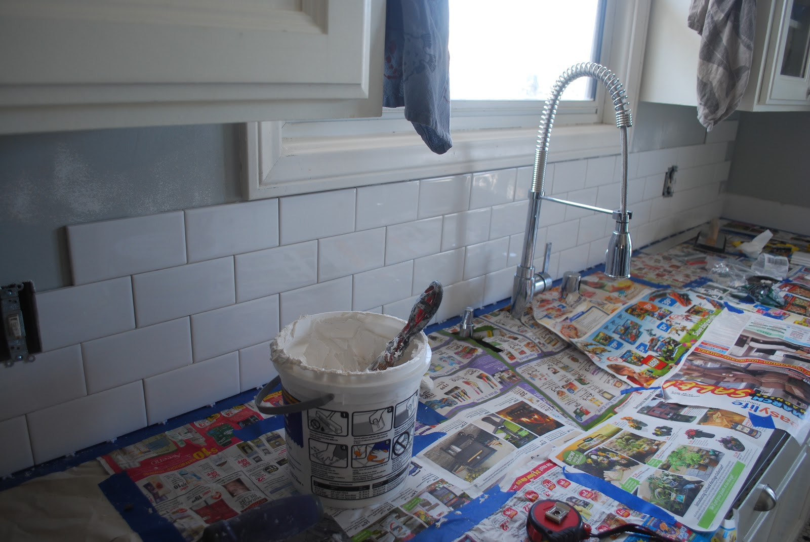 Kraken Crafts: A Little Bit of Subway Tile