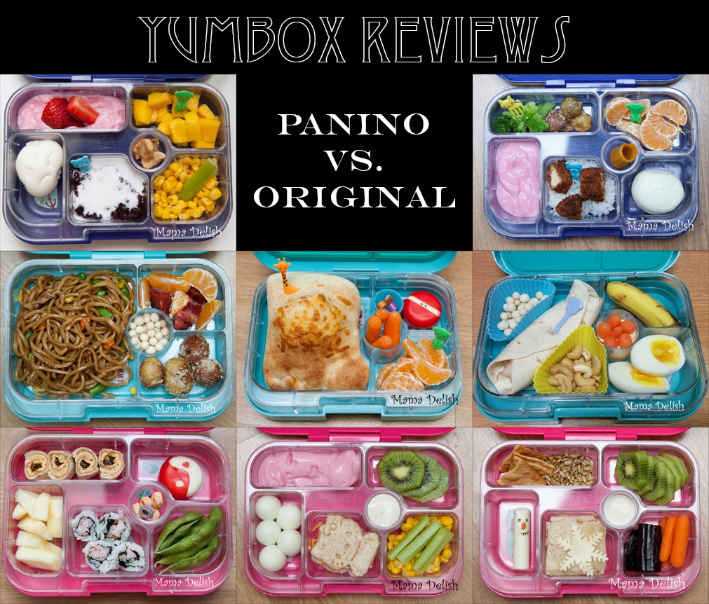 mama delish by christia: yumbox original and panino -- review