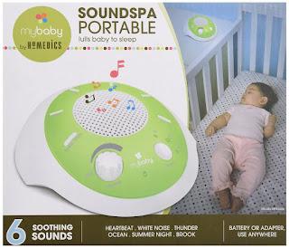 Image: myBaby SoundSpa portable