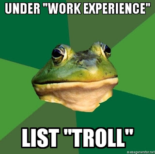foul bachelor frog work experience