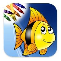 Ocean Coloring Book app