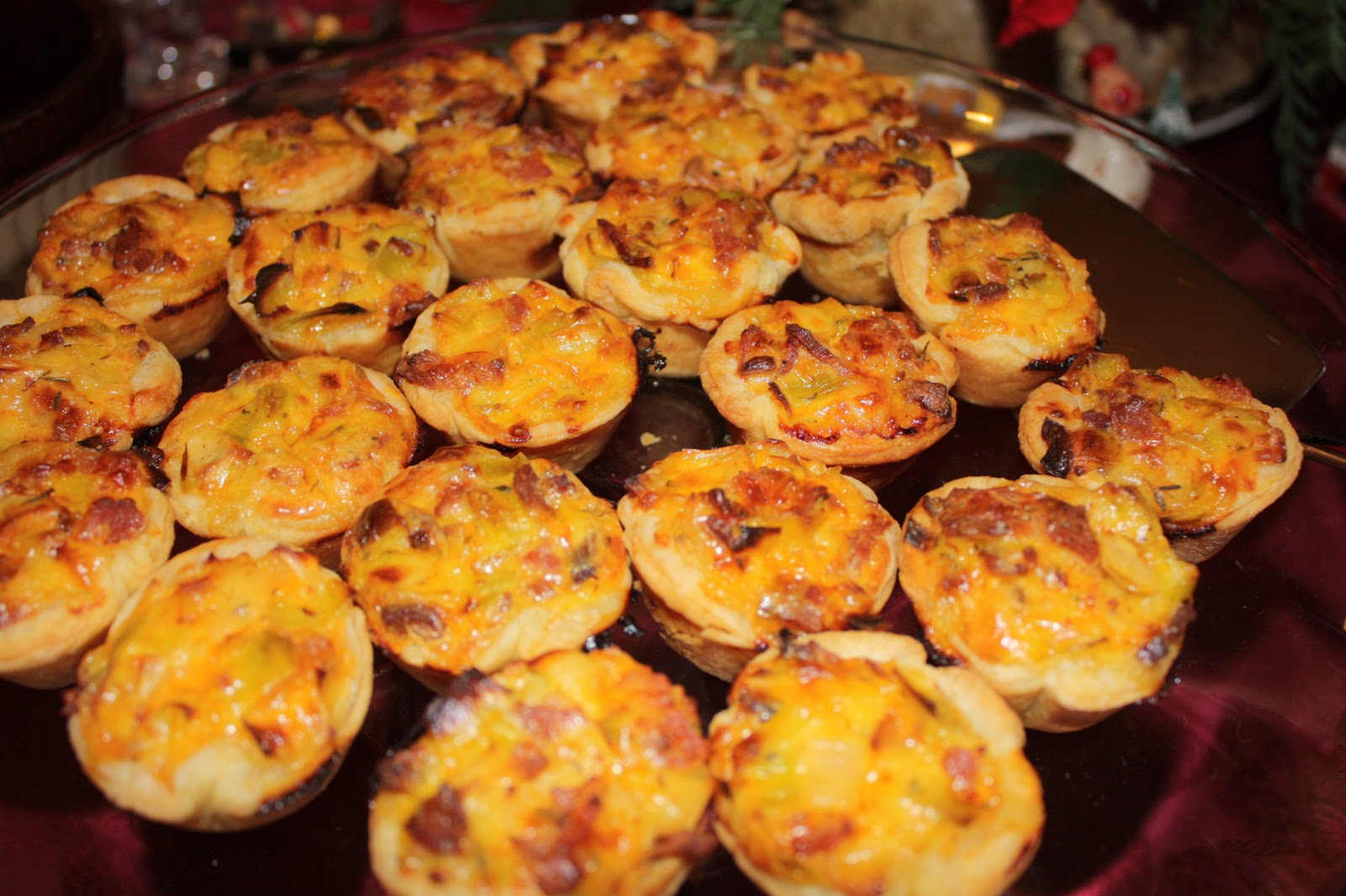 Gourmet Getaway: Bacon, Leek and Cheddar Mini Quiches
