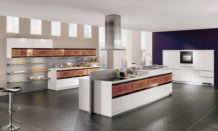 Offene kuche modern