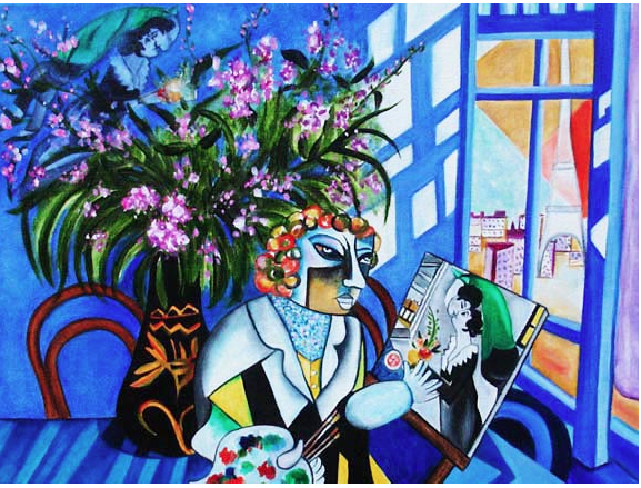 Painting My Dreams for Bella - Chagall